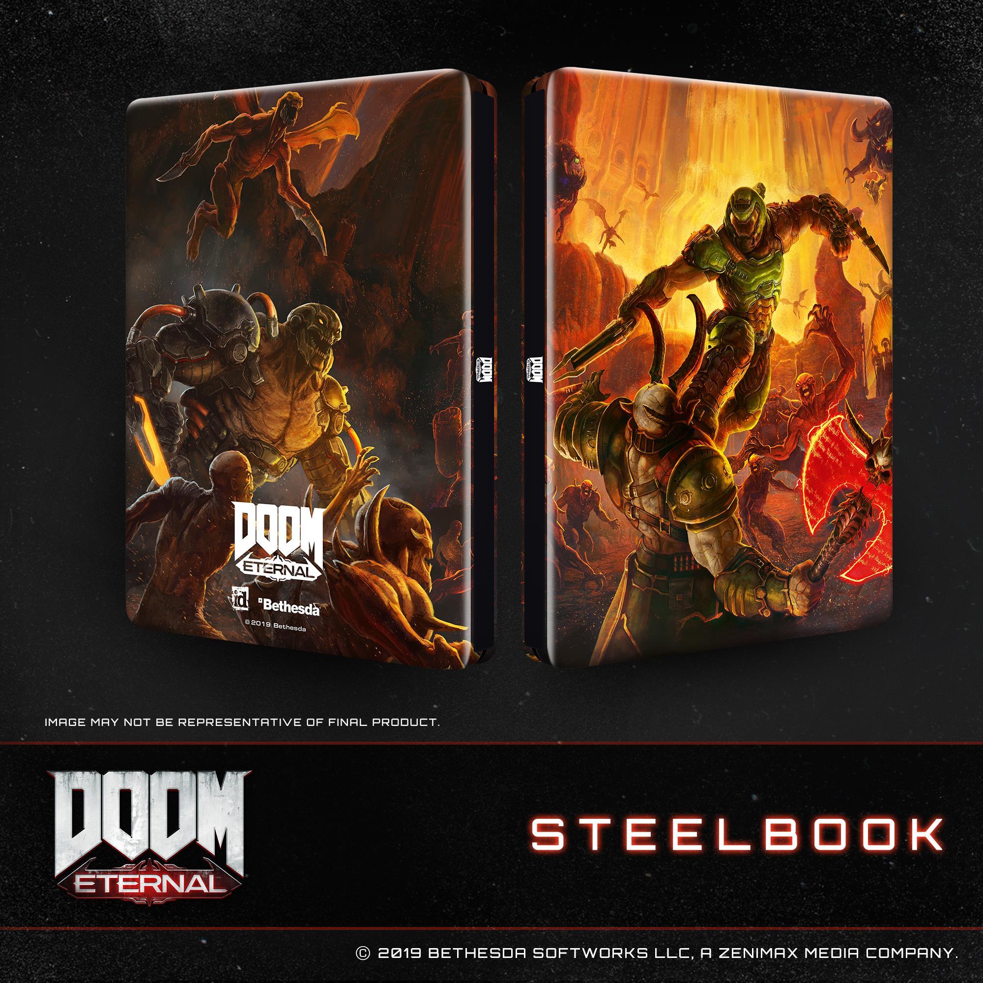 DOOM Eternal Steelbook Edition