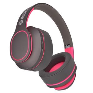 Moki Navigator Noise Cancelling Wireless Over-Ear Headphones (Pink) [Volume Limited]
