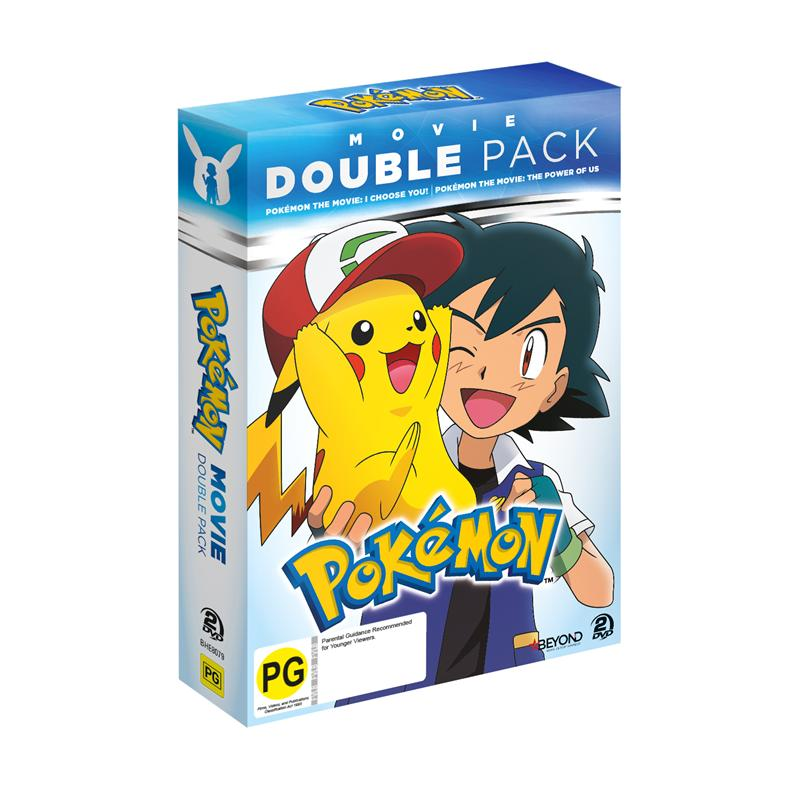 Pokemon Movie Double Pack I Choose You! & The Power of Us