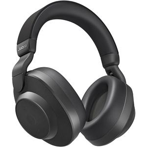 6e22f5a58e3 Jabra Elite 85H Over-Ear Wireless Noise Cancelling Headphones (Titanium  Black)