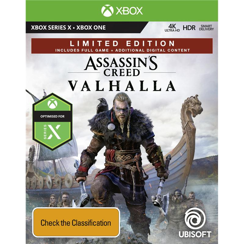 Assassin S Creed Valhalla Limited Edition Xbox One Jb Hi Fi