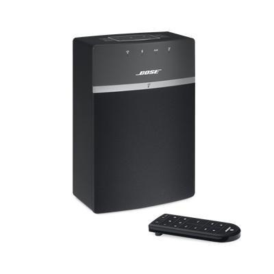 bose soundtouch 10 wireless music system black jb hi fi. Black Bedroom Furniture Sets. Home Design Ideas