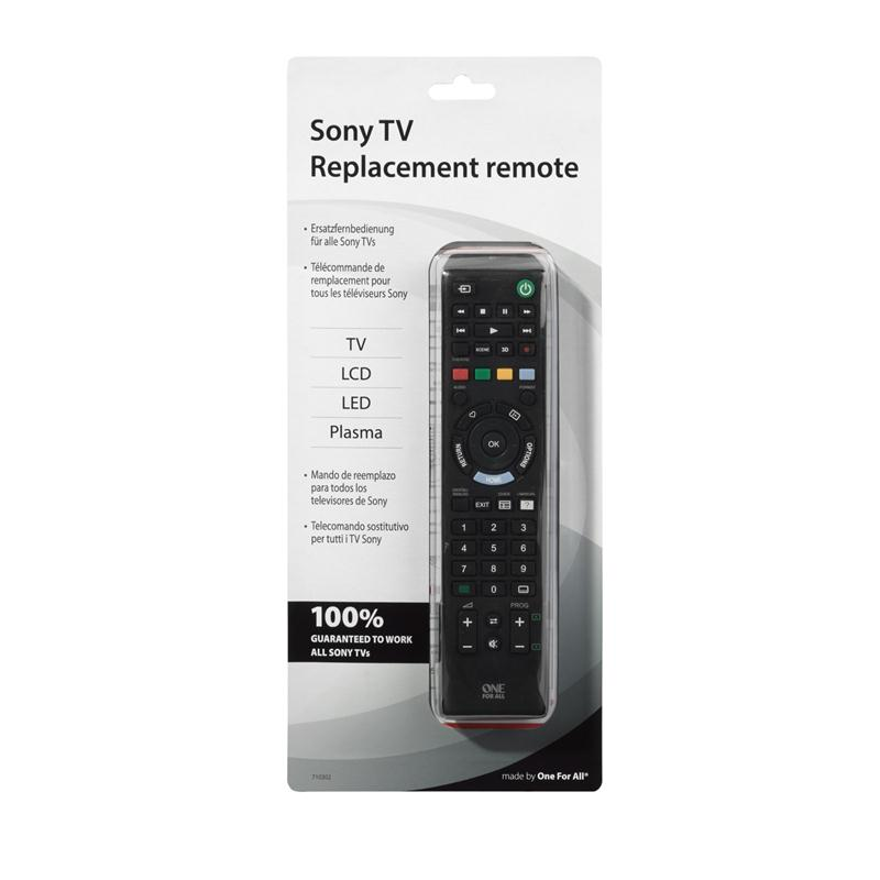 One for All Sony TV Replacement Remote