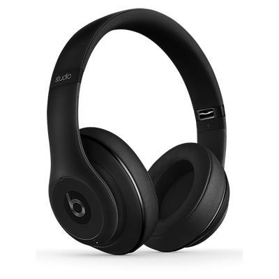 beats by dr dre studio wireless headphones matte black. Black Bedroom Furniture Sets. Home Design Ideas