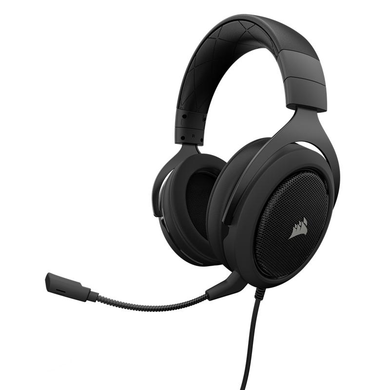 Corsair Gaming HS50 Stereo Gaming Headset - Carbon