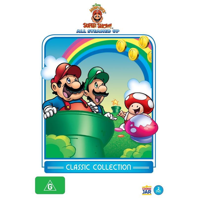 Super Mario Bros Super Show All Steamed Up